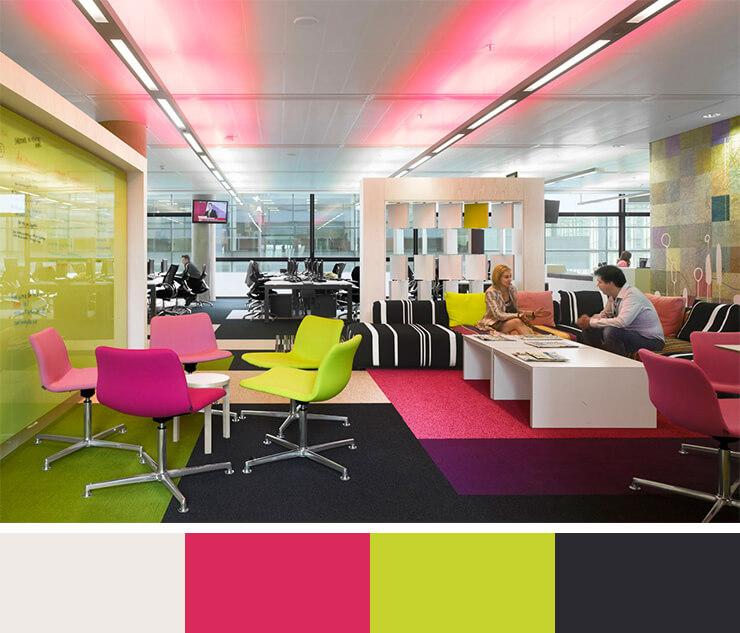 Rengarenk Ofis Koltukları ve Ofis Mobilyaları