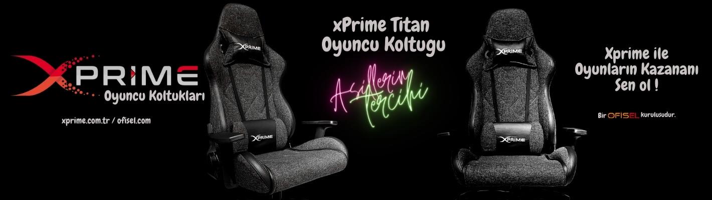 Xprime Titan Oyuncu Koltuğu