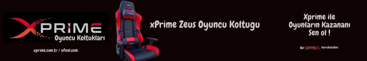 xPrime Zeus Oyuncu Koltuğu