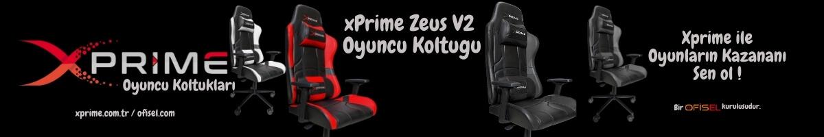 xPrime Zeus V2 Oyuncu Koltuğu - Popüler ve Artist Oyuncu Koltuğu