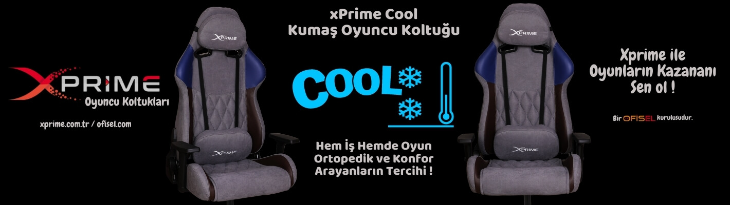 Xprime Cool Kumaş Oyuncu Koltuğu