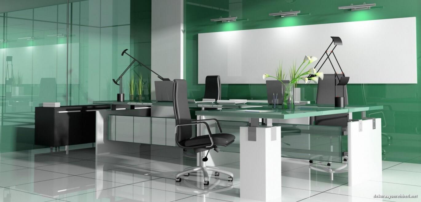 Yeşil Modern Ofis Koltukları ve Ofis Mobilyaları