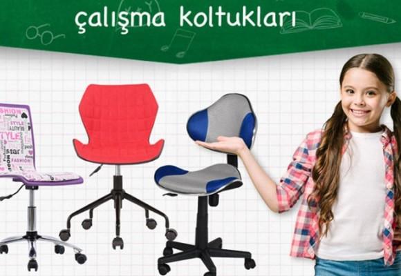 Öğrenciler için Çalışma Sandalyesi Burada