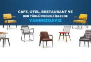 Cafe, Otel, Restaurant için Sandalye Modelleri