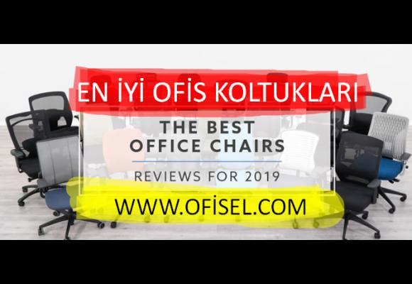 2019'un En İyi Ofis Koltuğu Modelleri