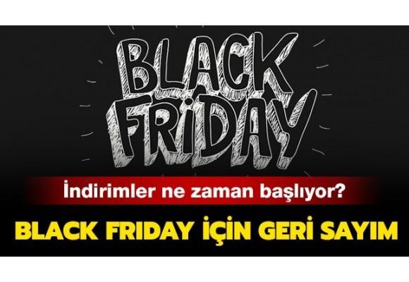 Black Friday Ne Zaman Başlıyor ?
