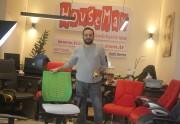 Pezzey Fileli Çalışma Sandalyesi