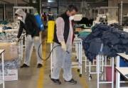 Fabrikamız Corona Virüsüne Karşı Düzenli Dezenfekte Edilmektedir.
