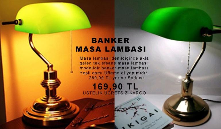 Efsane Banker Masa Lambası Kampanyası ve En iyi Fiyat Burada