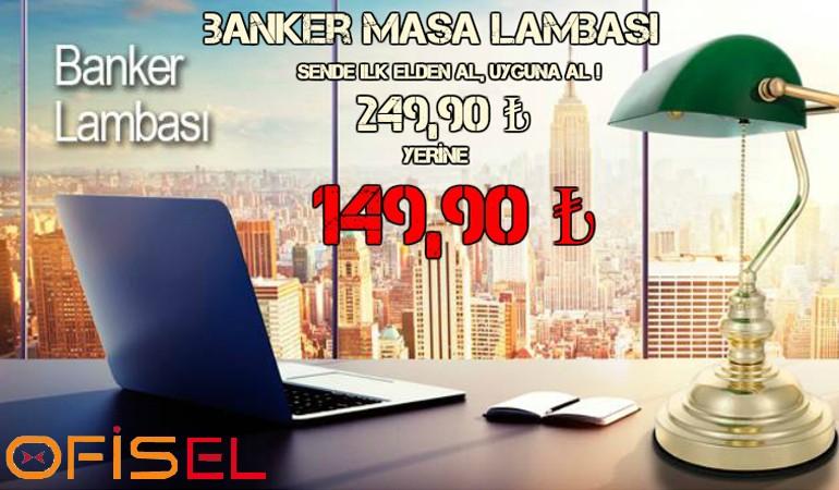 Banker Masa Lambası