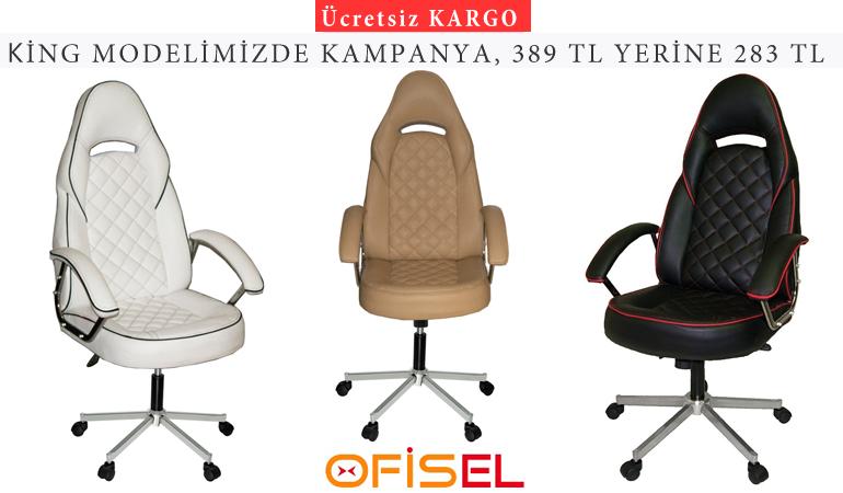 Türksit King Yönetici ve Oyuncu Koltuğu Modelleri
