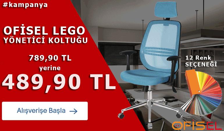 Lego Yönetici Koltuğu 12 Renk Seçeneği