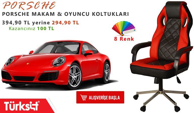 Türksit Porsche Makam Koltuğu